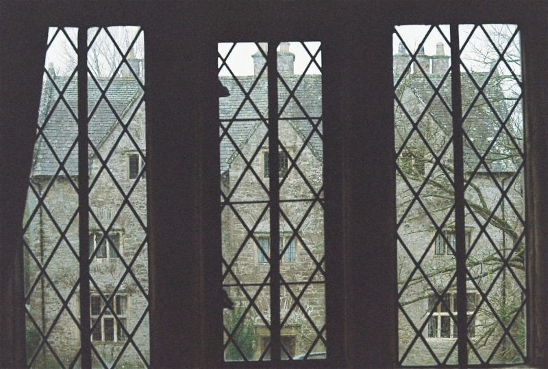 window view at the old gatehouse